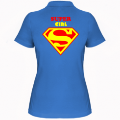 Жіноча футболка поло Super Girl
