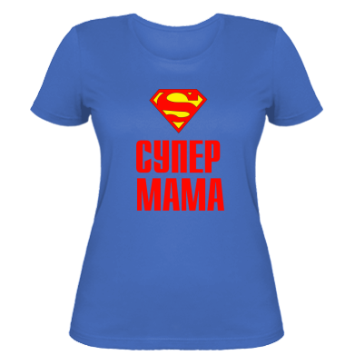 Жіноча футболка Супер Мама