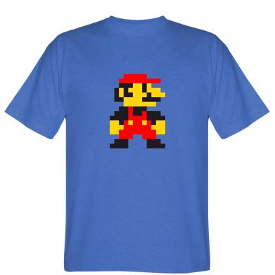 Футболка Супер Маріо в пікселях