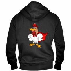 Чоловіча толстовка на блискавці Super Rooster