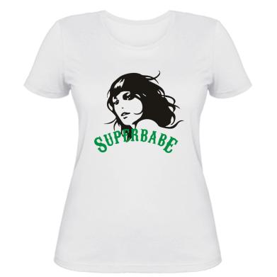 Жіноча футболка SuperBabe
