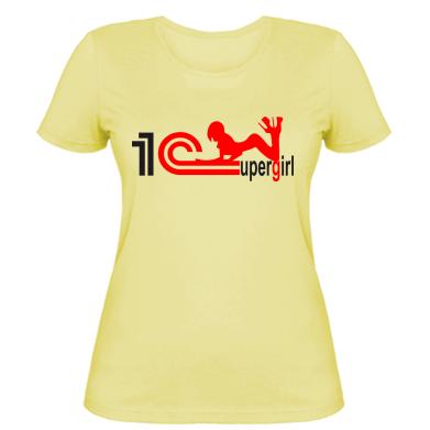 Жіноча футболка Supergirl 4 1С Бухгалтерия