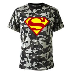 Купити Камуфляжна футболка Superman