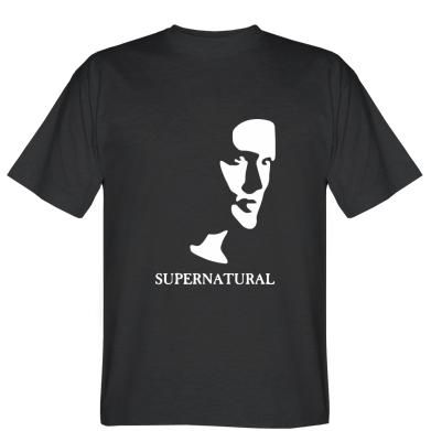 Футболка Supernatural Face