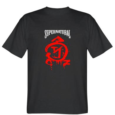 Футболка Supernatural Logo