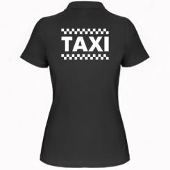 Купити Жіноча футболка поло TAXI