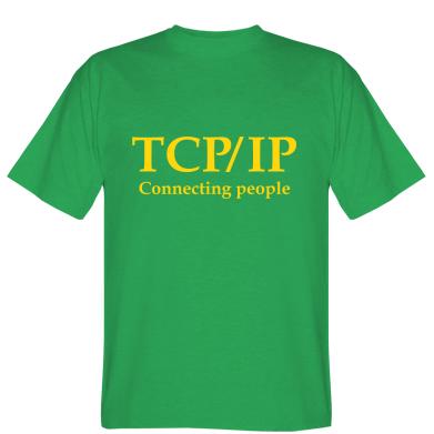 Футболка TCP\IP connecting people