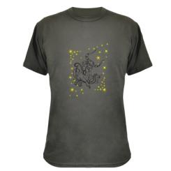 Камуфляжна футболка Телець
