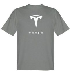 Футболка Tesla Logo