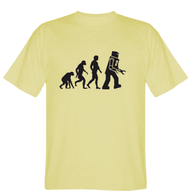 Футболка The Bing Bang theory Evolution