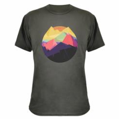 Камуфляжна футболка The mountains Art