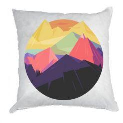 Подушка The mountains Art