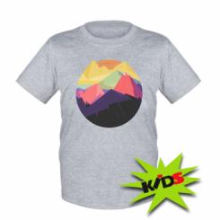 Дитяча футболка The mountains Art