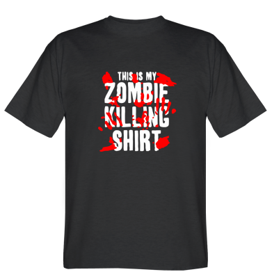 Футболка This is my zombie killing shirt