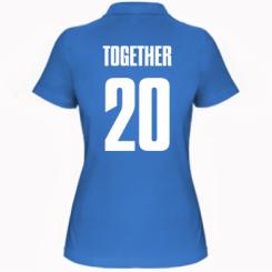 Жіноча футболка поло Together since 1