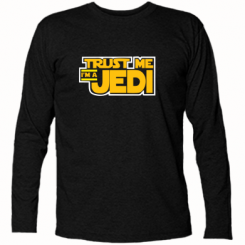 Футболка з довгим рукавом Trust me, I'm a Jedi