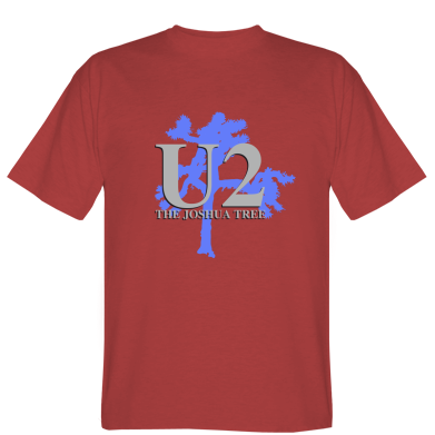 Футболка U2 The Joshua Tree
