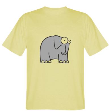 Футболка здивований слон