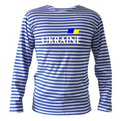 Тільняшка з довгим рукавом FLAG UKRAINE