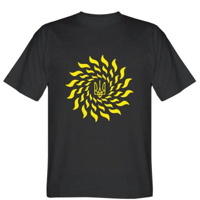Футболка Український герб-сонце