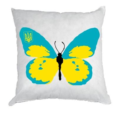 Купити Подушка Український метелик