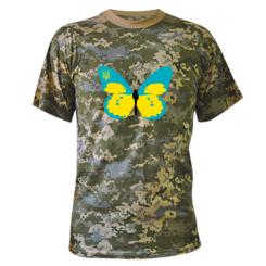 Купити Камуфляжна футболка Український метелик