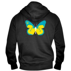 Купити Чоловіча толстовка на блискавці Український метелик