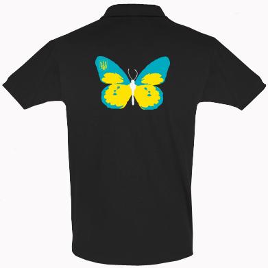 Купити Футболка Поло Український метелик
