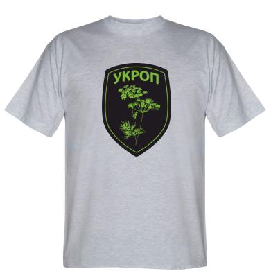 Футболка УКРОП (герб)