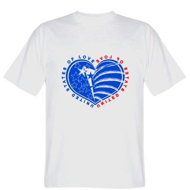 Футболка United States of Love