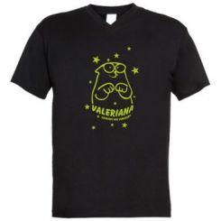 Чоловіча футболка з V-подібним вирізом Валеріана