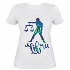 Жіноча футболка Терези зірки