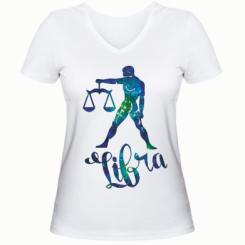Жіноча футболка з V-подібним вирізом Терези зірки