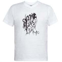Купити Чоловічі футболки з V-подібним вирізом Virgo (Діва)