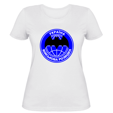 Жіноча футболка Військова розвідка