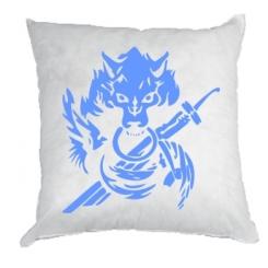 Подушка Вовк з мечем