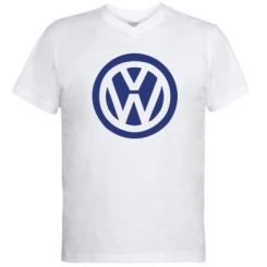 Купити Чоловічі футболки з V-подібним вирізом Volkswagen