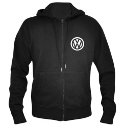 Купити Чоловіча толстовка на блискавці Volkswagen