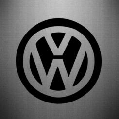 Купити Наклейка Volkswagen