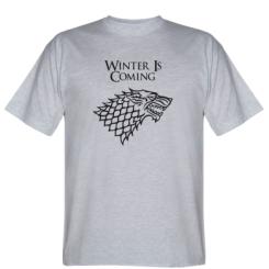 Футболка Winter is coming (Гра престолів)