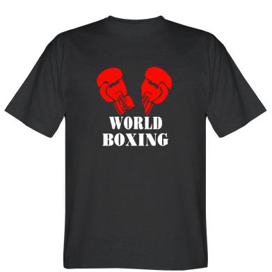Футболка World Boxing