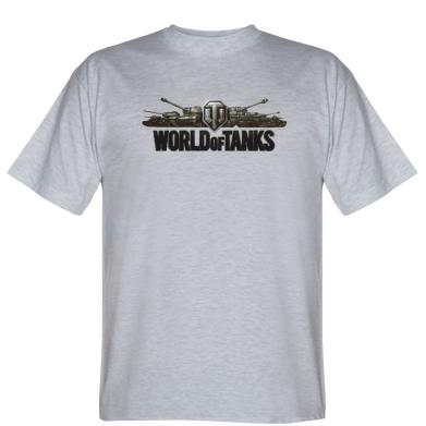 Футболка World Of Tanks 3D Logo