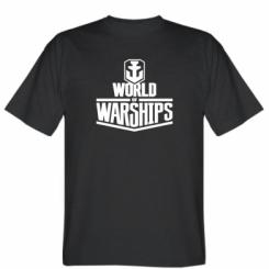 Футболка World of Waships Logo