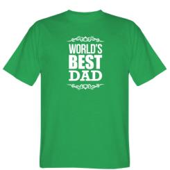 Футболка World's Best Dad