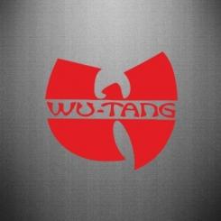 Наклейка WU-TANG