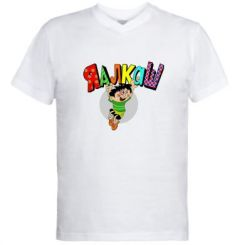 Чоловічі футболки з V-подібним вирізом Яалкаш