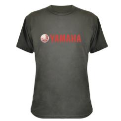 Камуфляжна футболка Yamaha Vintage