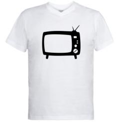 Купити Чоловічі футболки з V-подібним вирізом Ящик