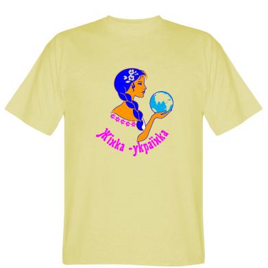 Футболка Жінка-Українка