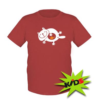 Купити Дитяча футболка Жирний кіт